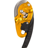 "7/16"" Petzl Self Braking I'D Descender - 2019 - FRONT"