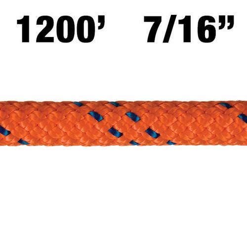 3300-14 New England KMIII Rope - Orange/Blue