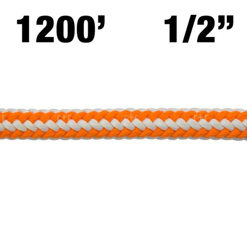 3255-16 New England Safety Blue Rope