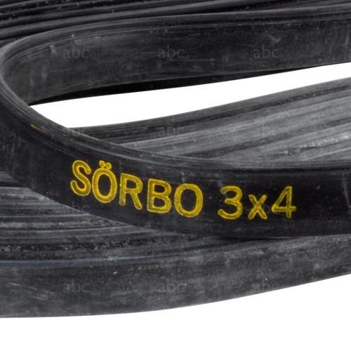 Rubber - Sörbo - Extruded - Bulk Silicone Formula - 50'