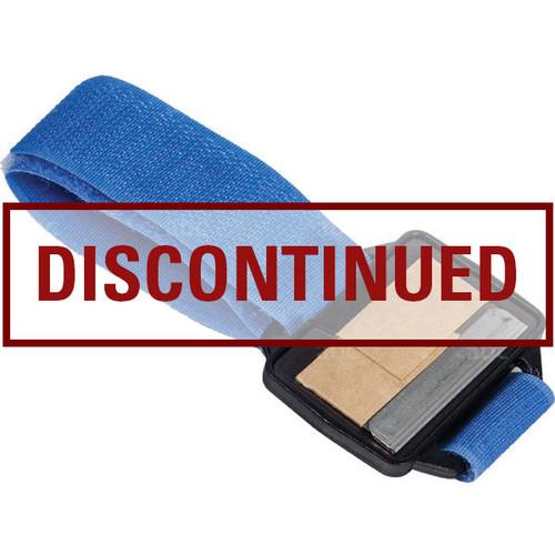 MBH-BLUE-1 Single Edge Scraper Holder Blue Velcro WristBand
