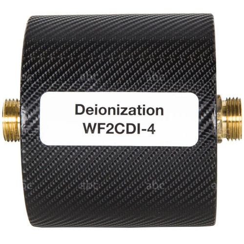 Deionization filter for phaser