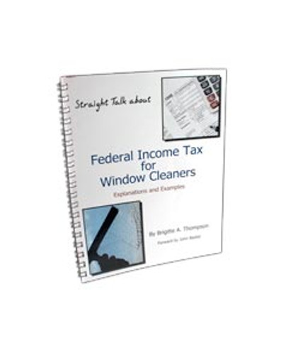 "Book ""Federal Income Tax for Window Cleaners"""