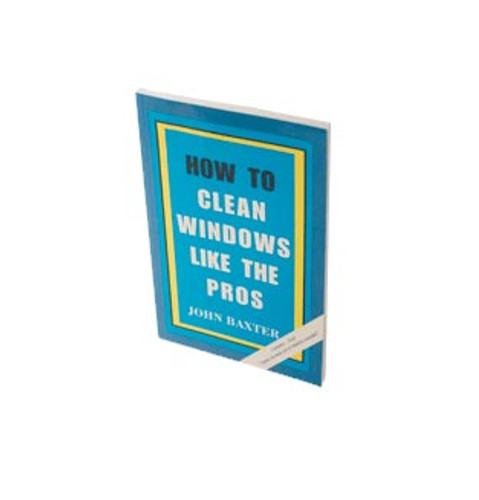 "Book ""How to Clean Windows Like the Pros"""