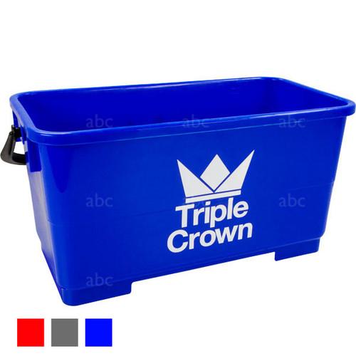 Bucket -- Triple Crown - 6 Gallon Rectangular - Blue - Each