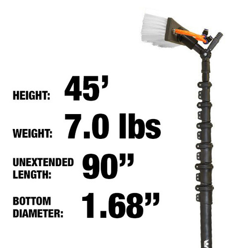 45ft: $1099.00: 7lbs: HiMod Carbon