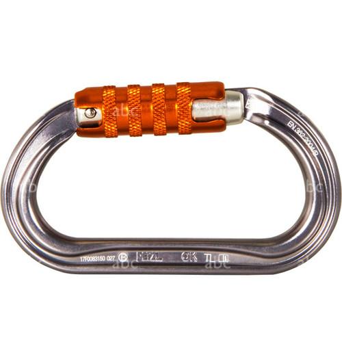 Carabiner - Petzl - OK H Frame - Triact Lock - Aluminum - Oval