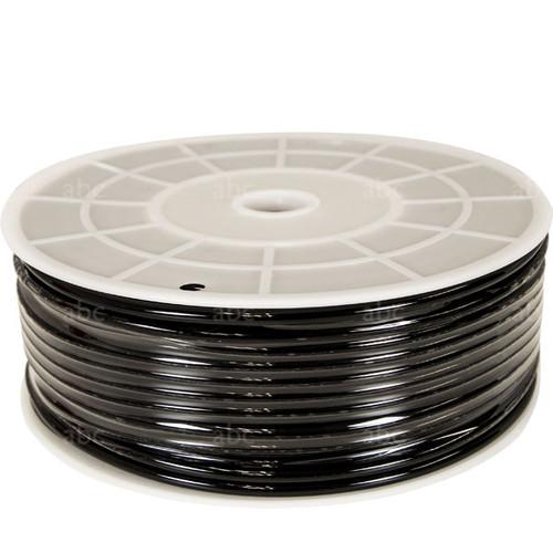 Hose - 328' Black Pole Tubing - abc - 3/16ID 5/16OD - Polyurethane