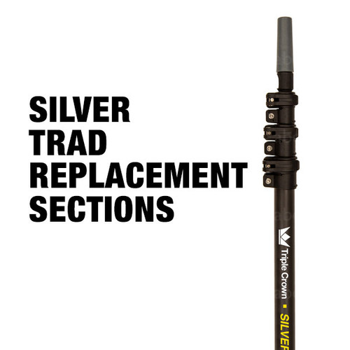 Triple Crown Silver TRAD Pole Replacement Sections