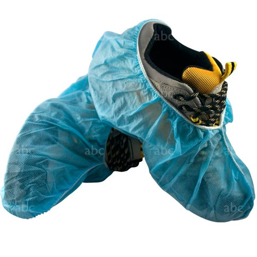 4822B-50XL Extra Large Blue Shoe Covers