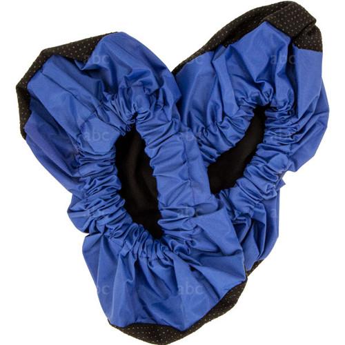 4850BLUE Shoe Covers - Blue & Black
