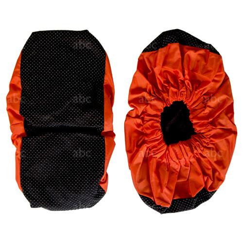 4850B0 Shoe Covers- Orange & Black