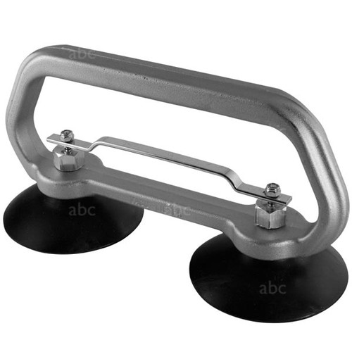 "Double 4"" Suction Cup Grabber - Stainless Steel"