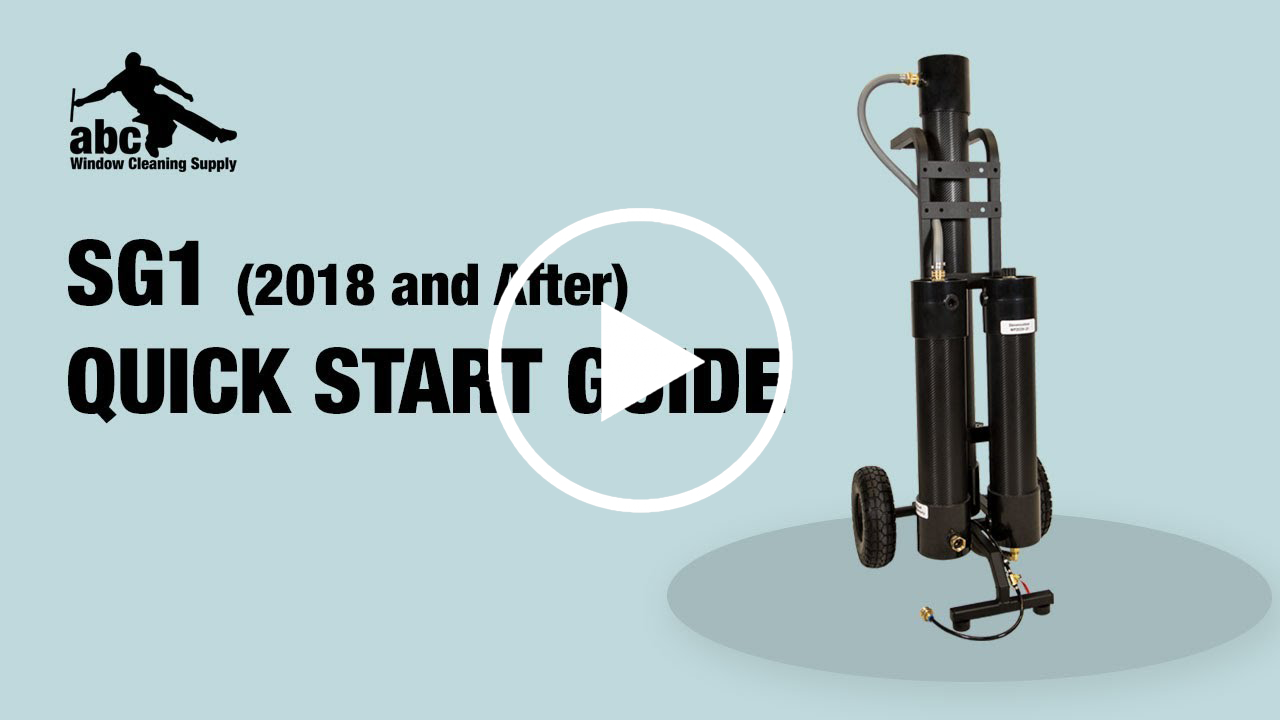 Getting started with a SG1 WaterFed system (2018 and after)