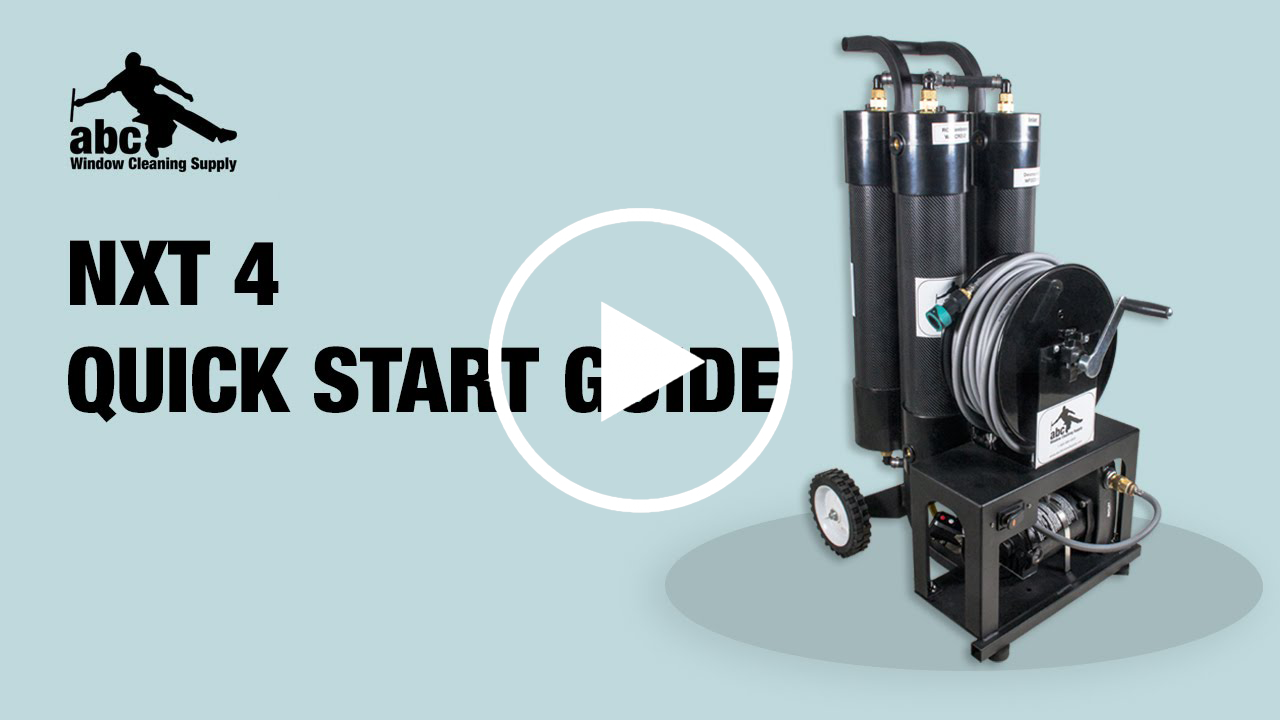 Getting started with the NXT 4 WaterFed system.