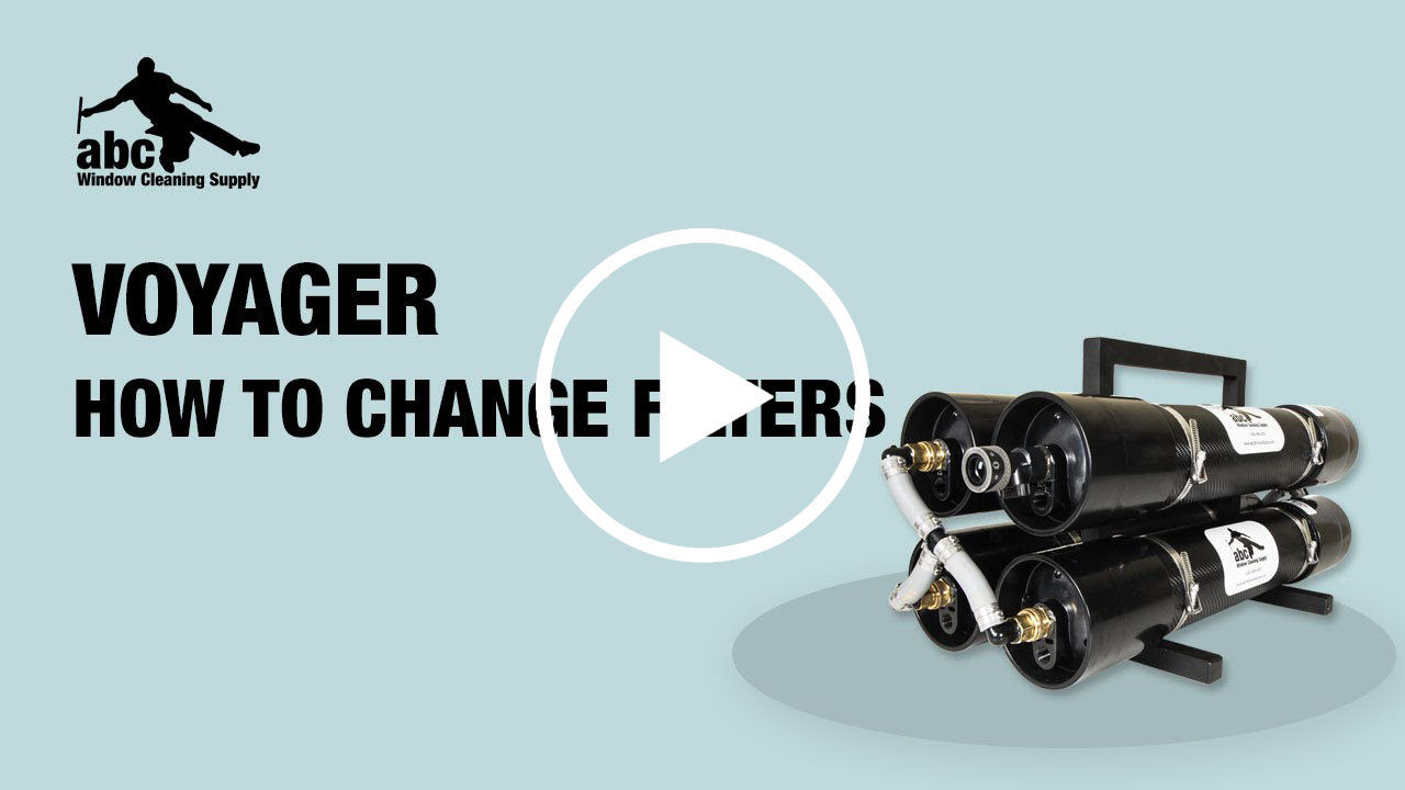 This video is a helpful guide to show you the step-by-step process of changing your Voyager WaterFed® system's filters.