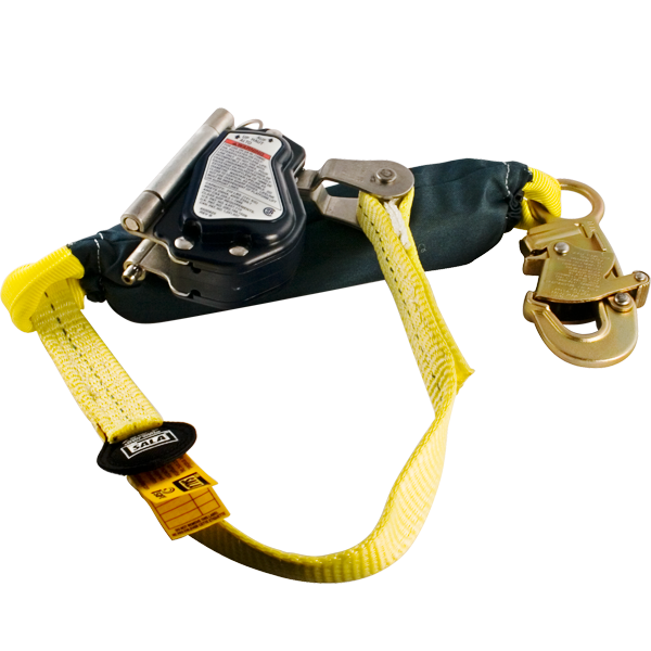 "DBI/SALA Rope Grab w/ 3' Absorbing Lanyard for 5/8"" Rope"