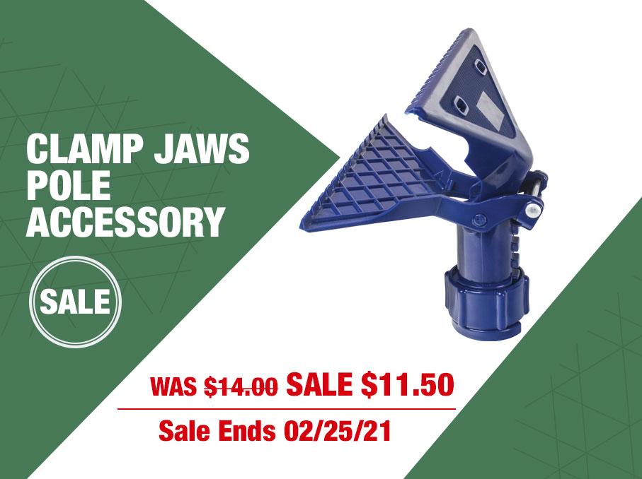 Pole clamp sale