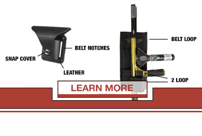 ALL ABOUT HOLSTERS & BELTS