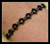 Right Angle Weave Diamond Bracelet PDF INSTANT DOWNLOAD PATTERN