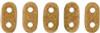 2x6mm Macadamia Czechmate Bar - 8 Grams (Approx 100-112 Beads)
