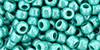 6/0 Opaque Luster Turquoise Toho Seed Beads (20 Grams) 06-132