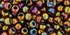 6/0 Gold Luster Dark Topaz Toho Seed Beads (20 Grams) 06-459