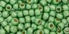 6/0 Permafinish Galvanized Matte Seafoam Toho Seed Beads (20 Grams) 06-PF560F