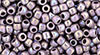 8/0 Opaque Rainbow Lavender Toho Seed Beads (20 Grams) 08-412