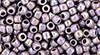 8/0 Opaque Rainbow Lavender Toho Seed Beads (20 Grams) 08-412