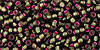 11/0 Raspberry Lined Olivine Toho Seed Beads (20 Grams) 11-2204