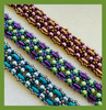 Purple Flowering Vines Bracelet Kit