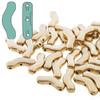 3x12mm Bronze Pale Gold Bridge Beads (30pk)