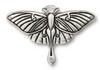 Luna Moth Pendant Link Silver Pewter (1 Link)