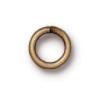 5mm ID 16ga Oxidized Brass Jump Rings (50pk)