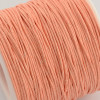 1mm Peach Puff Waxed Cotton Cord (5yds)