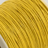 1mm Gold Waxed Cotton Cord (5yds)