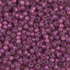 8/0 Duracoat Silver Lined Dyed Peony Pink Miyuki Seed Beads (20 Grams) 8-4247