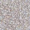 8/0 Silver Lined Crystal AB Miyuki Seed Beads (20 Grams) 8-1001
