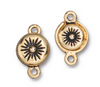 Gold Starburst Magnetic Clasp (1 Piece)