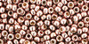 8/0 Toho Perma Finish Galvanized Sweet Pink Blush Seed Beads (20 Grams) 8-PF552