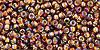 11/0 Silver Lined Rainbow Topaz Toho Seed Beads (20 Grams) 11-2034