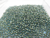 11/0 Inner Color Aqua / Gold Lined Seed Beads (20 Grams)