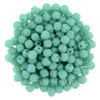 3mm Melon - Turquoise (1oo Beads) 03-6313