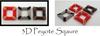 3D Peyote Square Tutorial