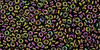 11/0 Higher Metallic Iris Purple/Green Demi Round (8 Grams)