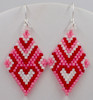 Heart of Diamond Earrings Instant Download Pattern