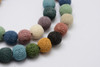 12mm Natural Lava Stone Strand - Approx 34 Beads