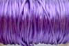 1.5mm Dark Purple Rayon Rattail Cord - Per Yard
