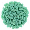 2x6mm Turquoise Czechmate Bar - 8 Grams (Approx 120-140 Beads)
